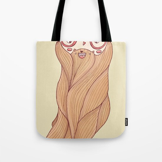 Bear Beard Tote Bag