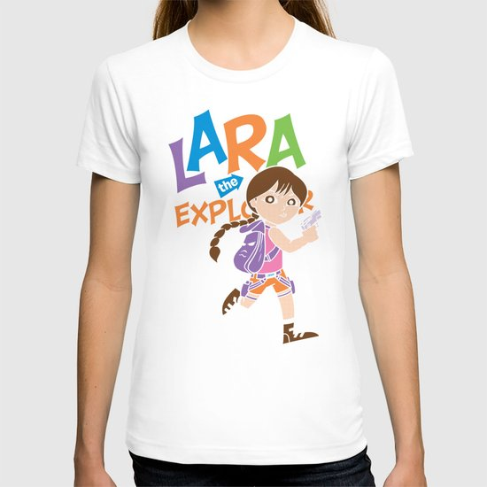 Lara the Explorer T-shirt