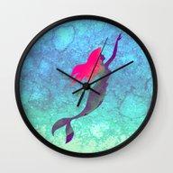 Disney's The Little Merm… Wall Clock