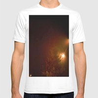 A Cold Winter Night Mens Fitted Tee White SMALL