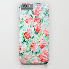Pompidou Rose Garden iPhone 6 Slim Case