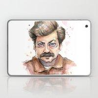 Swanson Love Valentine P… Laptop & iPad Skin