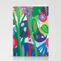 Secret Garden I  Stationery Cards