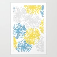 Cool Breezy Dandies Art Print