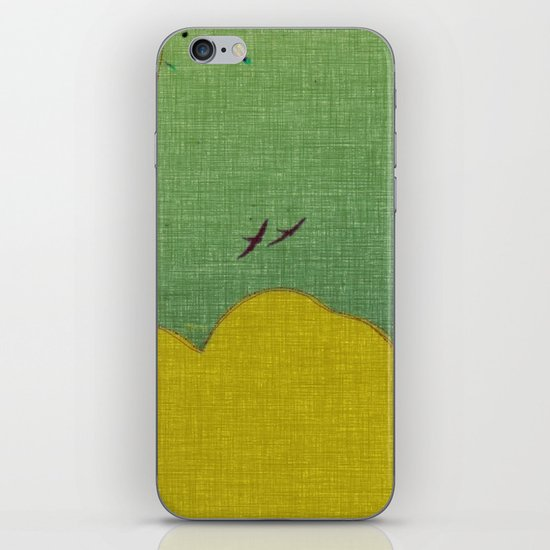 migratory thoughts iPhone & iPod Skin