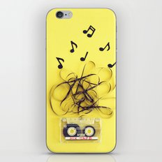Mix Tape (ANALOG ZINE) iPhone & iPod Skin