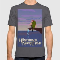 Hunchback of Notre Dame Mens Fitted Tee Asphalt SMALL