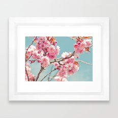 Cherry cherry Framed Art Print