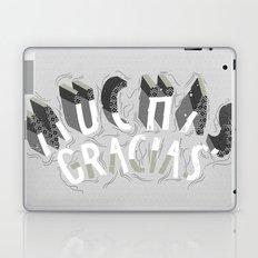 MUCHAS GRACIAS Laptop & iPad Skin
