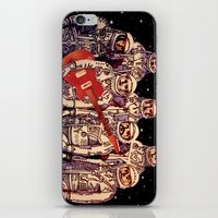 Astronauts With Guitar iPhone & iPod Skin