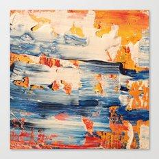 THREADED Canvas Print
