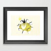 Crane's inspiration Framed Art Print