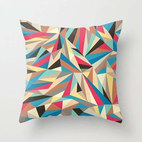 Mind trick Throw Pillow