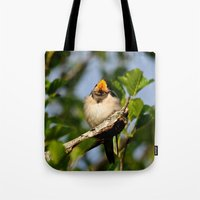 Singing swallow Tote Bag