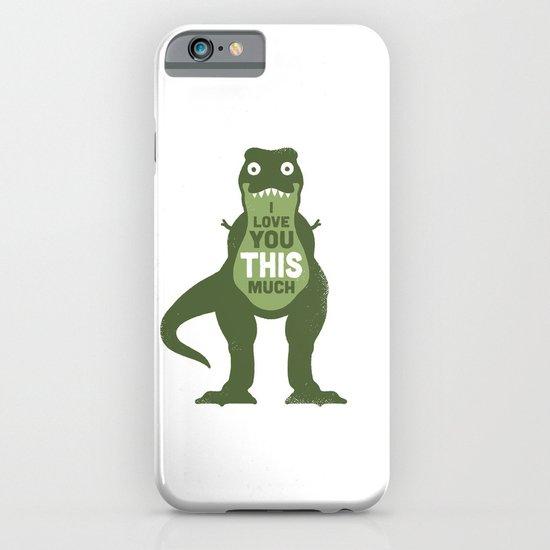 Amourosaurus iPhone & iPod Case