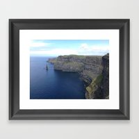 Irish Coast Framed Art Print
