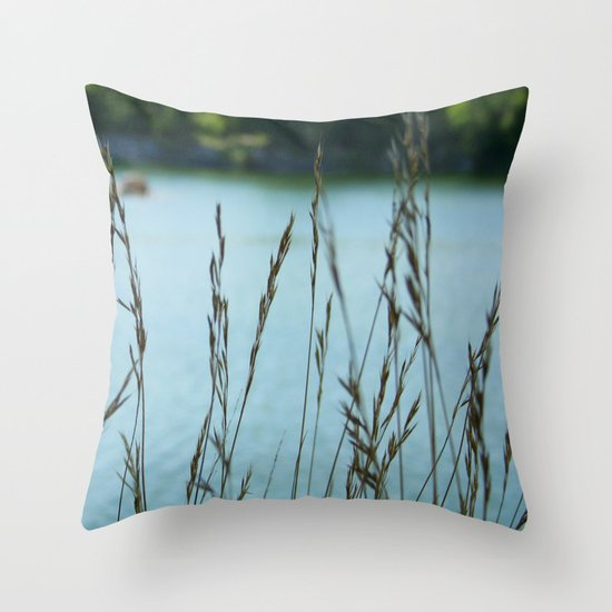 Come Sit with Me Throw Pillow