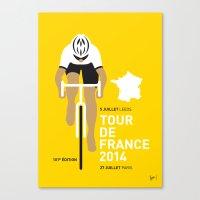 My TOUR DE FRANCE Minima… Canvas Print