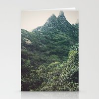 Hawaii Mountain Stationery Cards