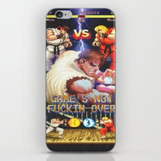 GAME'S NOT FUCKIN OVER! pt. 1 iPhone & iPod Skin