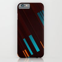 iPhone & iPod Case featuring Canopus Blue Orange by Greg Stedman Illustration