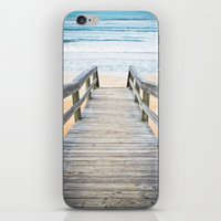 Florida Beach Walkway iPhone & iPod Skin