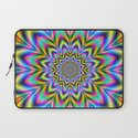 Psychedelic Flower Laptop Sleeve
