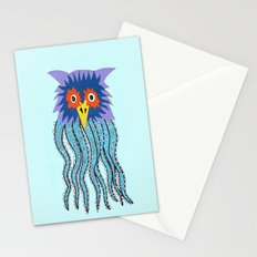 the owl of cthulu Stationery Cards