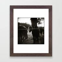 { pony pals } Framed Art Print