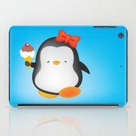 Ice Cream Penguin iPad Case