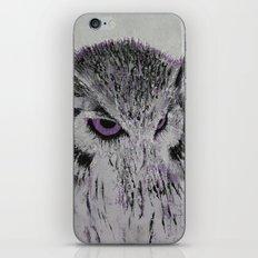 Violet Owl iPhone & iPod Skin