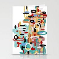 Mid Century One Stationery Cards