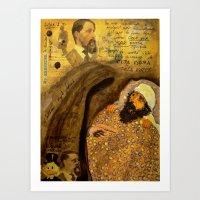 Mr EBENEZER Art Print