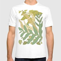 Ferns Mens Fitted Tee White SMALL