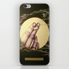 I've Had More Conversations with You than with God iPhone & iPod Skin