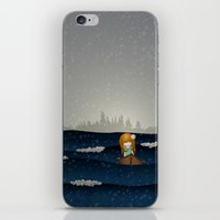 Cicily To The Sea iPhone & iPod Skin