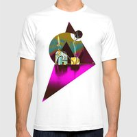 FeatherWeight  Mens Fitted Tee White SMALL