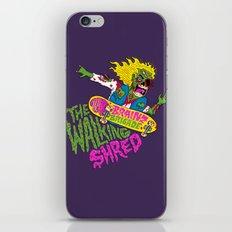 The Walking Shred iPhone & iPod Skin