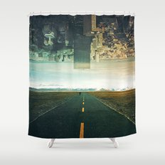 Roads Ahead Shower Curtain