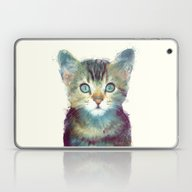 Laptop & iPad Skin featuring Cat // Aware by Amy Hamilton