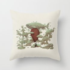 Cloud Watching Throw Pillow