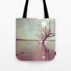Peaceful Lake! Tote Bag