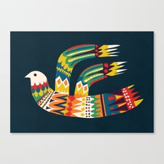 Native Bird Canvas Print
