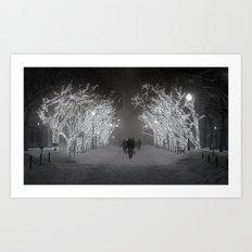 Columbia University Art Print
