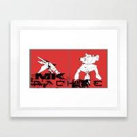 MkR Framed Art Print