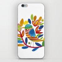 bird  iPhone & iPod Skin