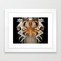 Octo-Magi Framed Art Print