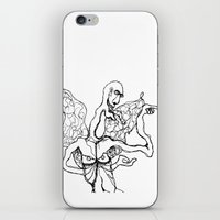 I'm A Little Butterfly iPhone & iPod Skin