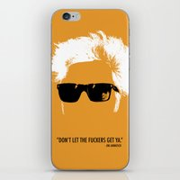 Jim Jarmusch Hair iPhone & iPod Skin