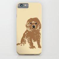 Cockapoo Dog Art iPhone 6 Slim Case